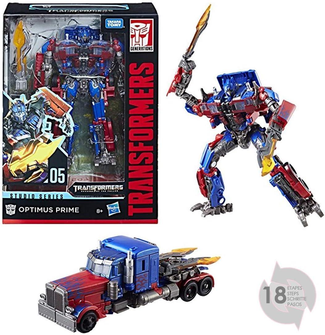 Transformers - 1 Studio Series Optimus (Hasbro E0738ES0): Amazon ...