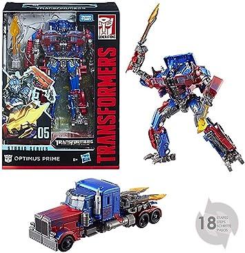 Transformers - 1 Studio Series Optimus (Hasbro E0738ES0): Amazon.es: Juguetes y juegos