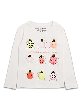 Sugar Squad Brand New Ladybird Ladybug Print Long Sleeved T Shirt