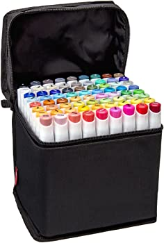 72-Count Bianyo Classic Series Alcohol-based Dual Tip Art Markers
