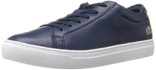 6ac361a421647 Lacoste Women's L.12.12 117 1 Fashion Sneaker, Navy, 8 M US: Amazon ...