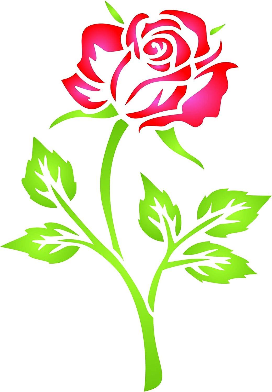 Embossage Stencil Rose Forme De Fleur De Coupe Die M/étal Stencil Mod/èle Scrapbooking Moule De Coupe Papier D/écoratif 1pc