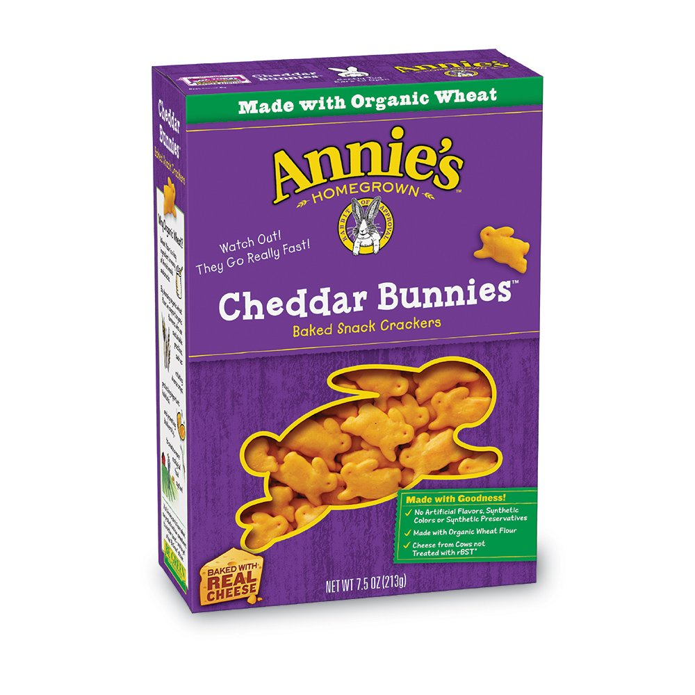 Image result for annie's cheddar bunnies