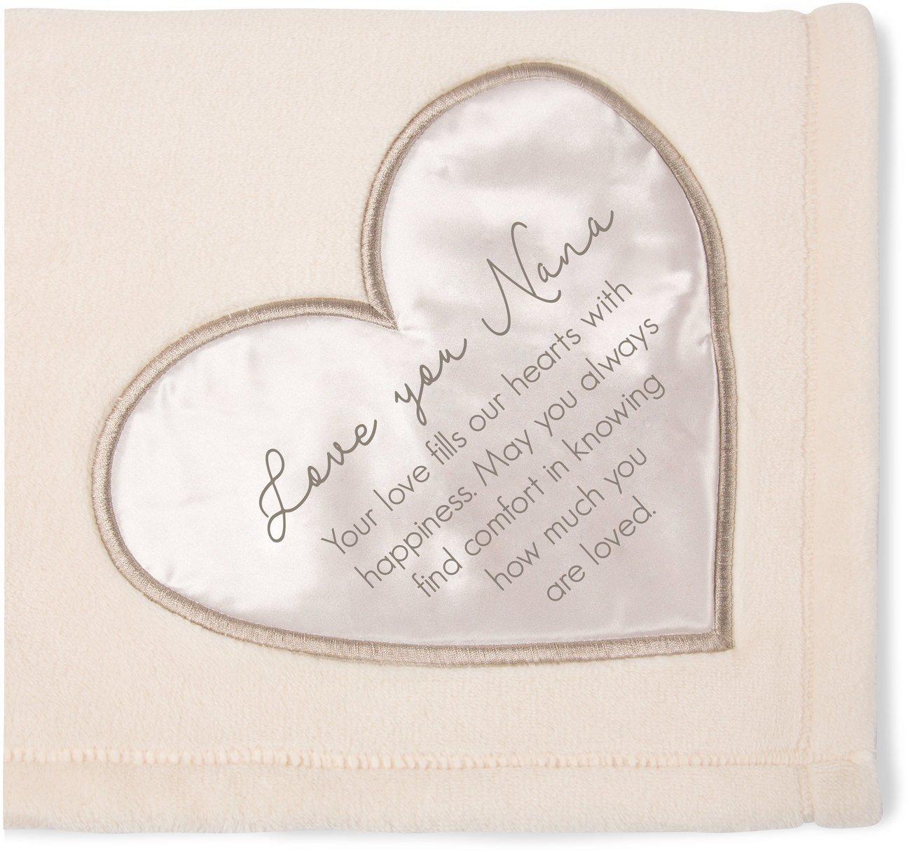 The Comfort Blanket 19509 Love You Nana Plush Throw
