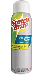 Scotch-Brite Stainless Steel Cleaner and Polish (17.5 Ounces)