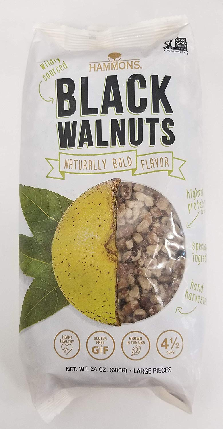 Hammons American Black Walnuts,24 Ounce - PACK OF 2 by Hammons