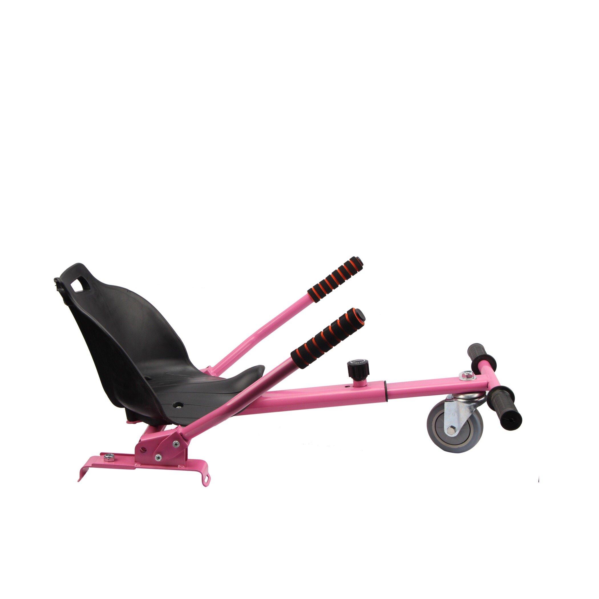 Hoverkart Adjustable For Of GoKart hoverboard e-scooter(pink)
