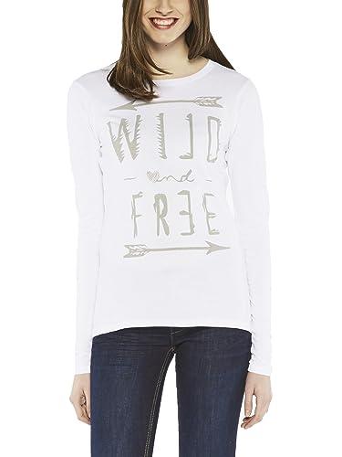 Colorado Denim Joss, Camiseta de Manga Larga para Mujer