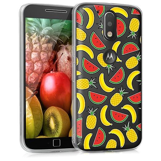 6 opinioni per kwmobile Cover per Motorola Moto G4 / Moto G4 Plus- Custodia in silicone TPU-