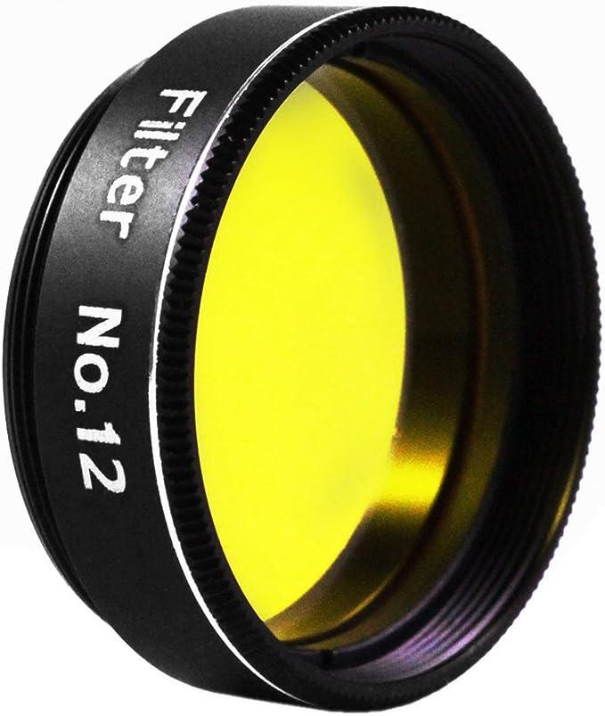 Ostara 1.25 Filter #8 Light Yellow