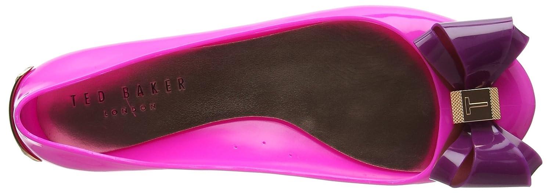 Ted Baker Damen Julivia (Pink/Dark Ballerinas Mehrfarbig (Pink/Dark Julivia Purple) 90880b