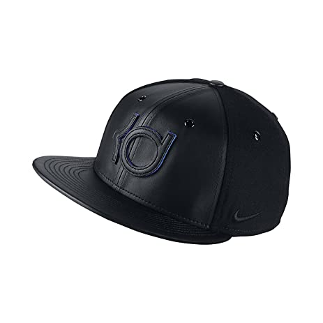 Nike Mens KD Wool and Leather True Hat BlackGame Royal