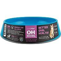 Oh Bowl Fresh Breath Cat Bowl, Blue One Size