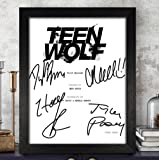Teen Wolf Cast Signed Autographed Script Reprint RP PP - Dylan O'Brien, Tyler Posey, Holland Roden, Linden Ashby & Melissa Ponzio