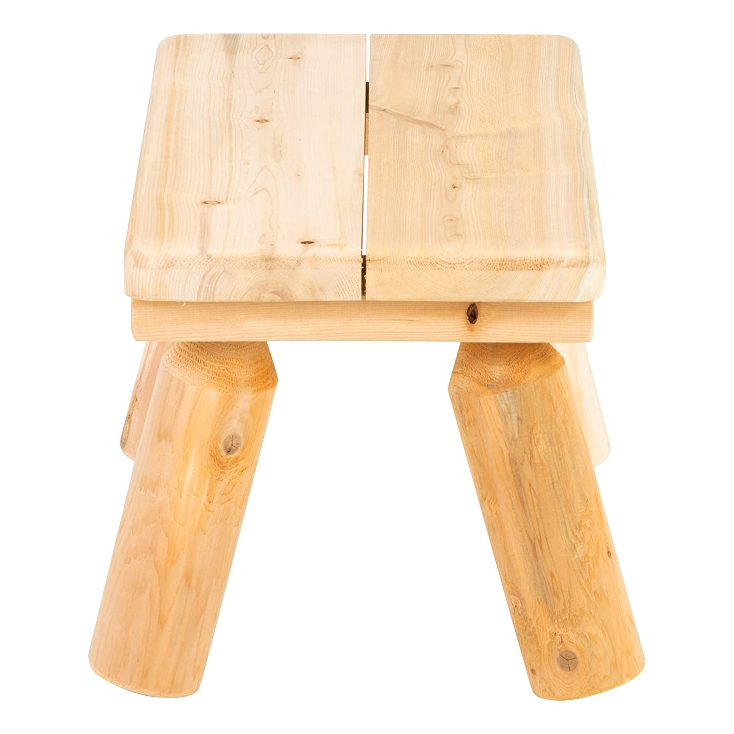 SPG-KEE2012-SO Sprogs Outdoor Preschool Cedar Bench 12 Seat Height