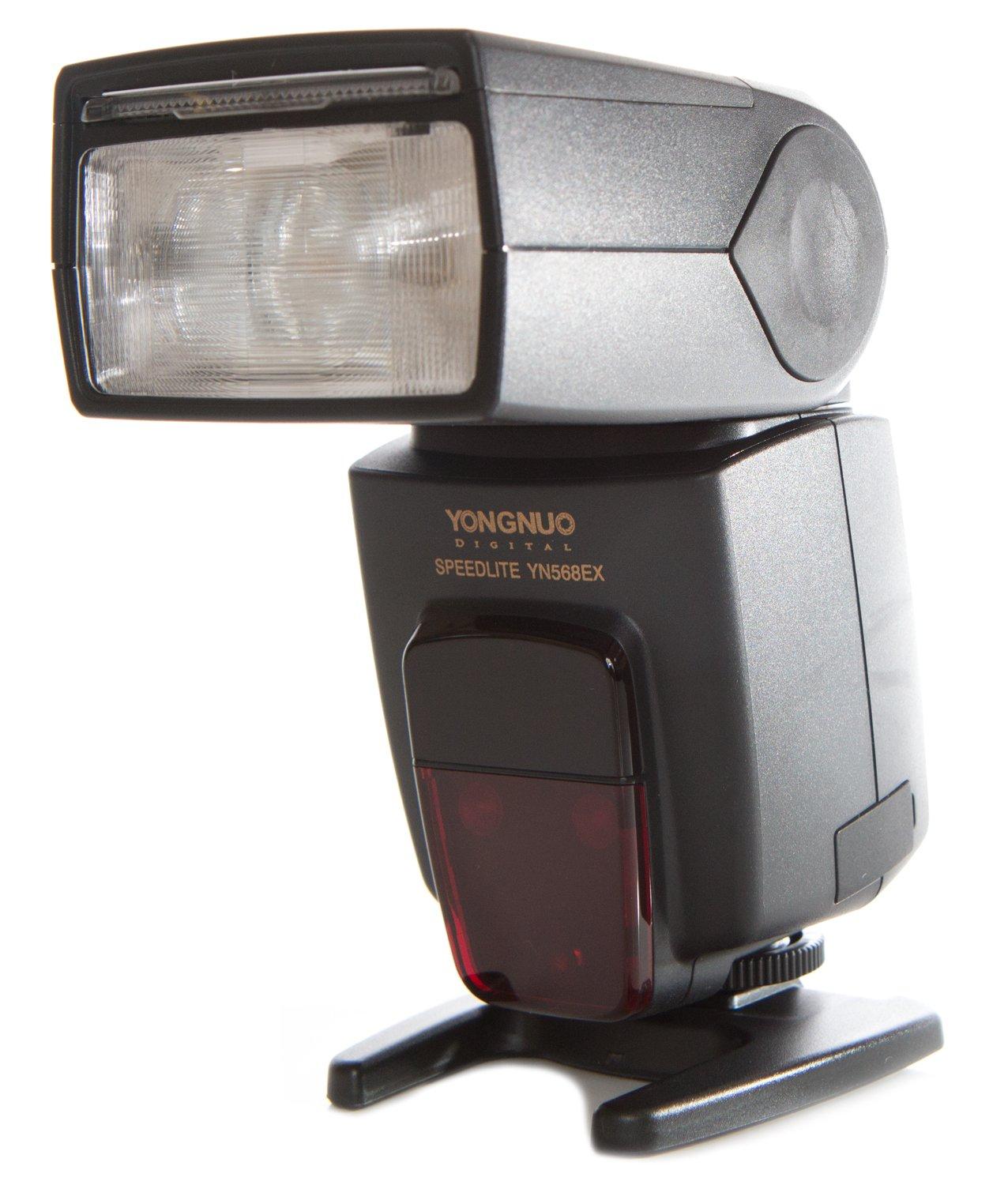 Yongnuo YN568EXN-USA i-TTL Speedlite Flash for Nikon, GN58, High-Speed Sync, US Warranty (Black) by Yongnuo
