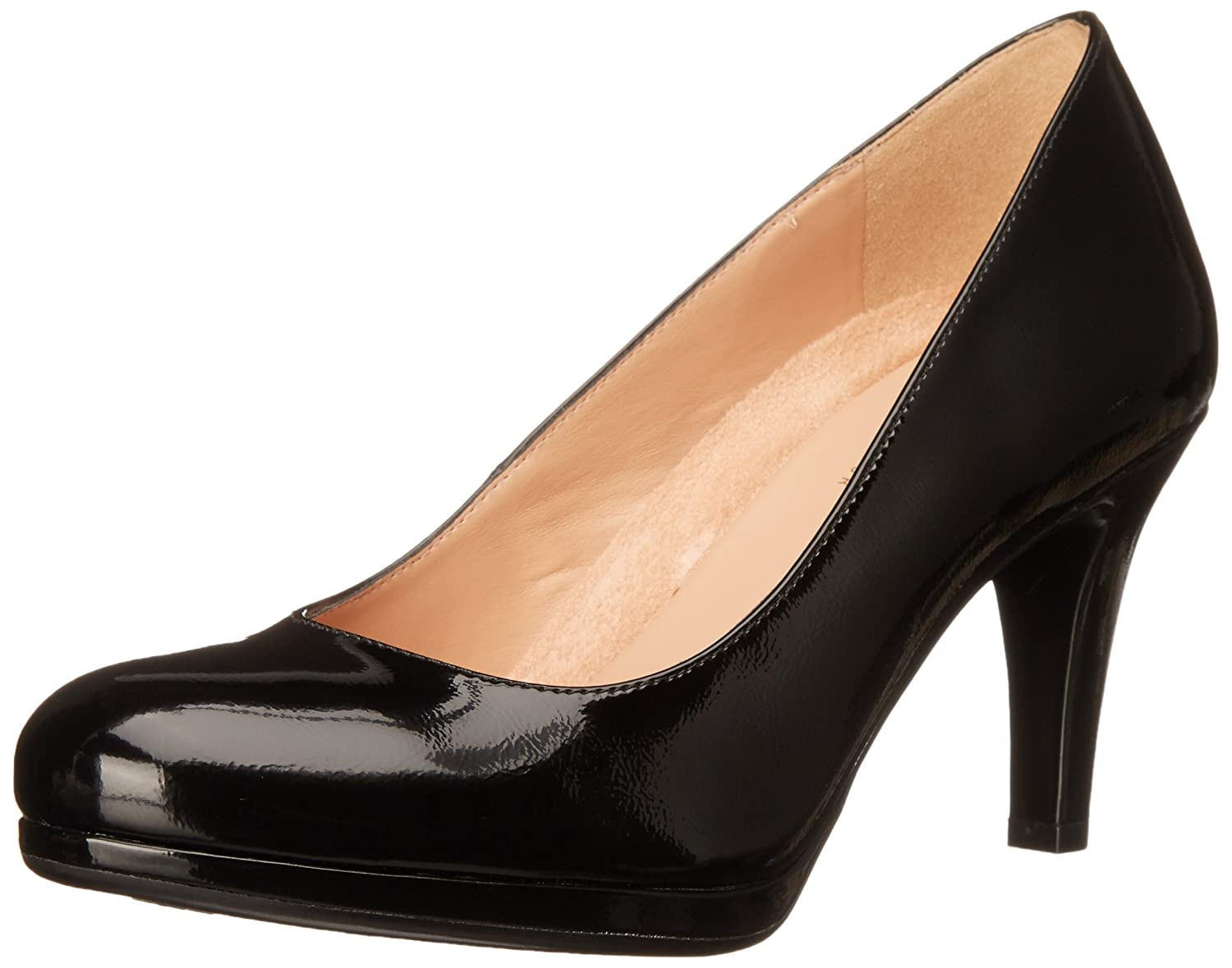 Naturalizer Women's Michelle Dress Pump B00RBVOVVK 8 N US|Black Shiny