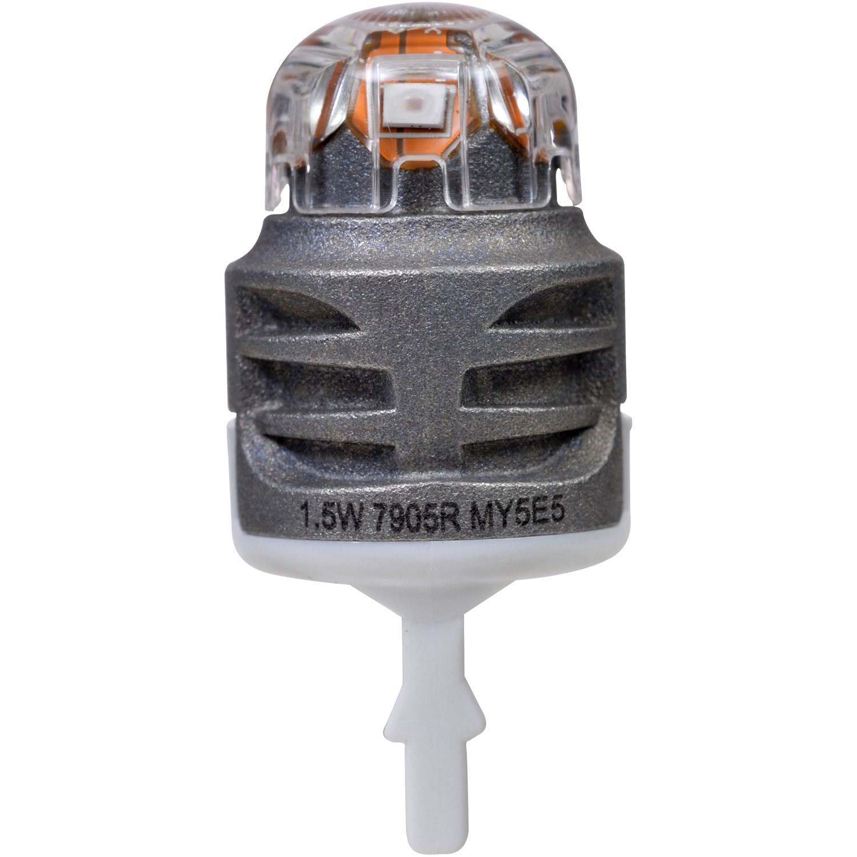 Contains 2 Bulbs SYLVANIA ZEVO 7440 T20 Amber LED Bulb,