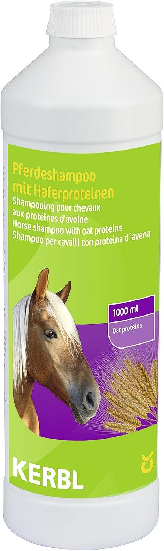 Kerbl 321585 - Champú para caballo con proteínas de avena, 1000 ml