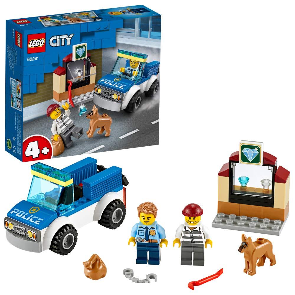 レゴ(LEGO) シティ ポリス 警察犬の追跡 60241