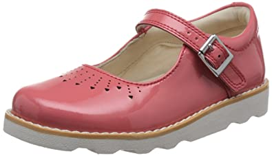 caebc8cf62e4e8 Clarks Girls' Crown Jump Ankle Strap Sandals: Amazon.co.uk: Shoes & Bags