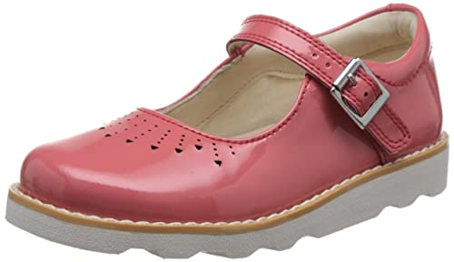 e16f5435b8812 Clarks Girls  Crown Jump Ankle Strap Sandals  Amazon.co.uk  Shoes   Bags