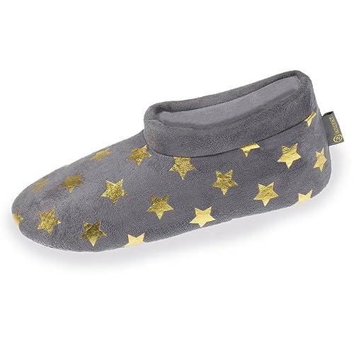 Botines Bajos de casa Mujer Isotoner 41/42: Amazon.es: Zapatos y complementos