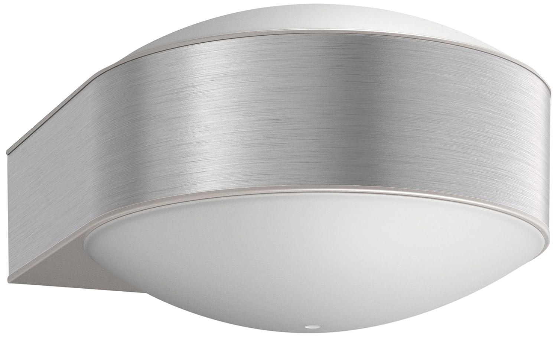 Philips myGarden LED Up und Downlight Gartenleuchte, Wandaussenleuchte Cistus, Edelstahl [Energieklasse A++] 915005403901