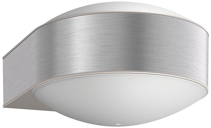 Philips chipmunk lampada da parete acciaio inox amazon