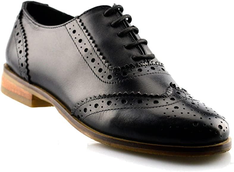 School Lace Up Brogues Shoe Size