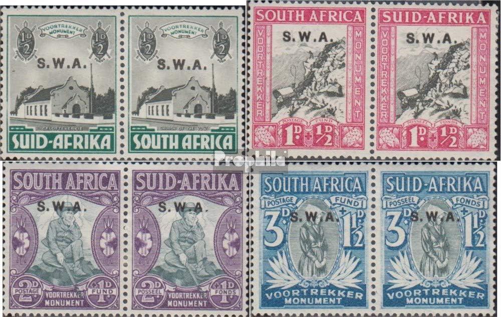 Prophila Collection Namibia Briefmarken f/ür Sammler kompl.Ausg. 1935 Voortrekker-Marken S/üdwestafrika 172-179 waagerechte Paare