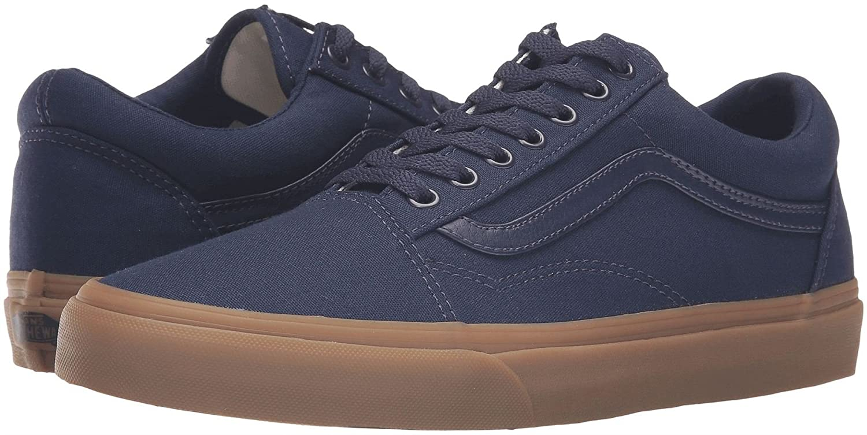 7e1007f69d62 Vans U Old Skool Navy Gum Mens Suede Skate Trainers Shoes-9  Amazon.co.uk   Shoes   Bags
