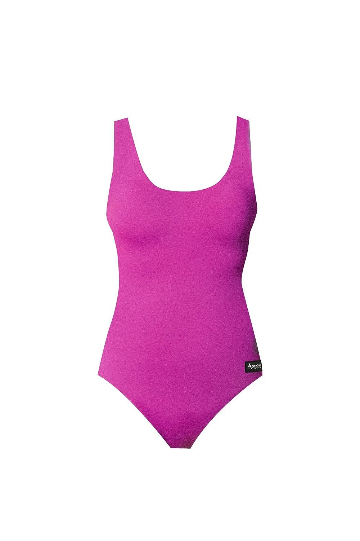 AeroskinポリプロピレンレディースOne Piece Swim Suit inソリッド色 B003TW5BDM