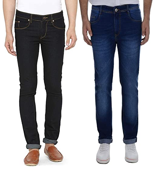 e9be011aca Piyurz combo of stretchable cotton slim fit casual party wear denim jeans  for men jpg 522x563