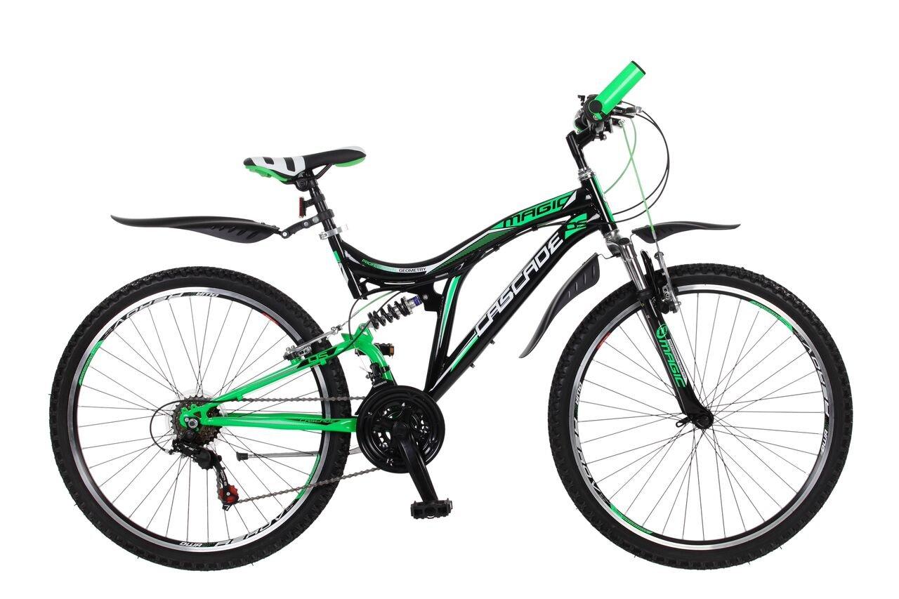 26 Zoll Kinderfahrrad Mountainbike Fahrrad Vollgefedert Jugendfahrrad Kinderrad Rad Shimano 18-Gang X-TREME Frank Bikes