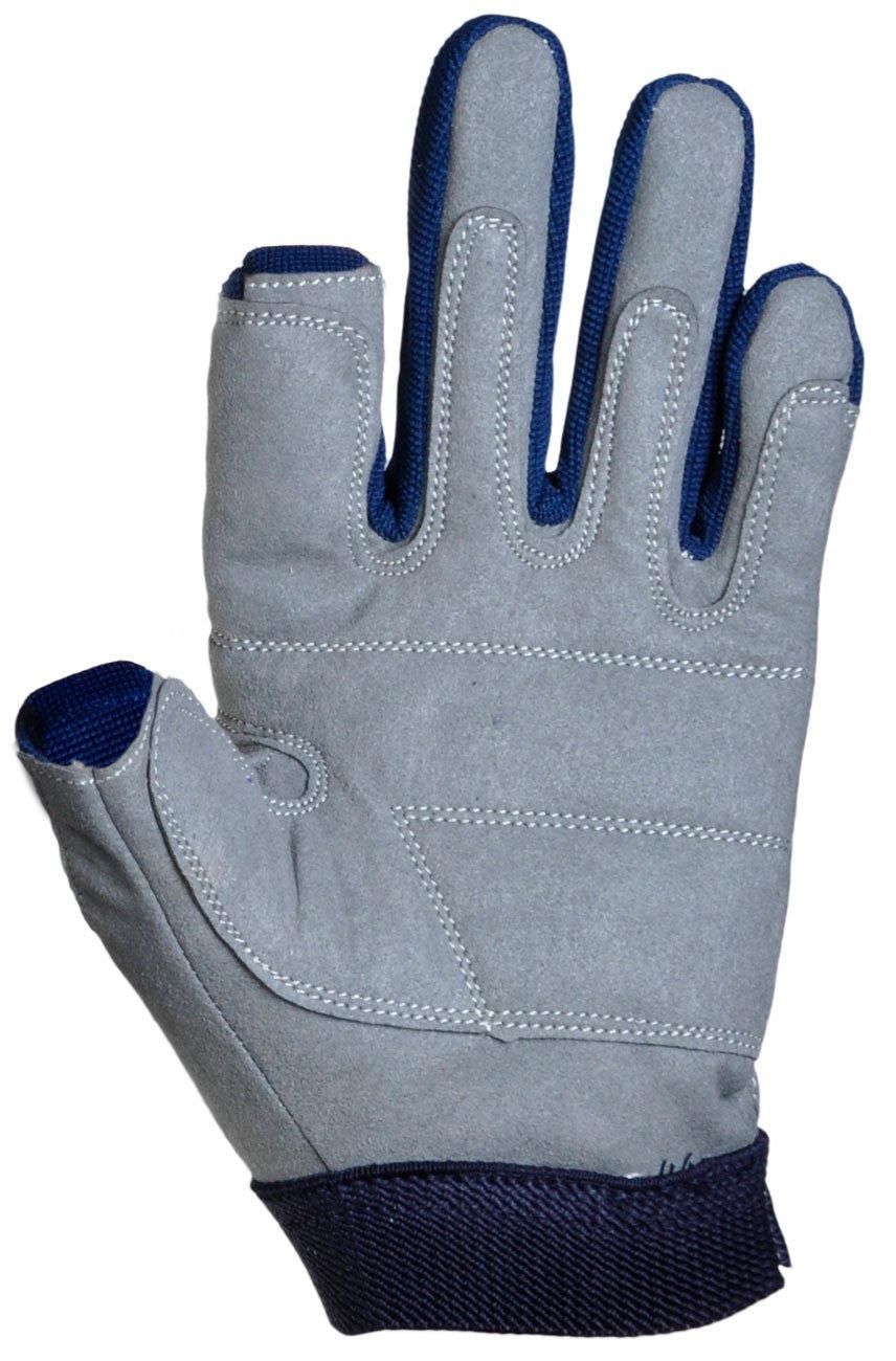 Dry Fashion Amara Mesh Segelhandschuhe 2 Finger frei Wassersport Regatta Gloves