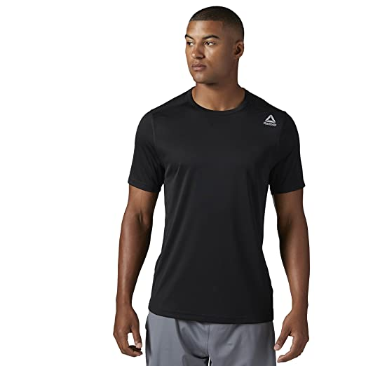 adba5a1762 Reebok Men' Speedwick Tech Short Sleeve Tee