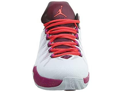 Amazon.com  Jordan Mens CP3.VIII AE White Bordeaux Fuchsia Flash Infrared  23 725173-113 9  Sports   Outdoors ceacfdb28