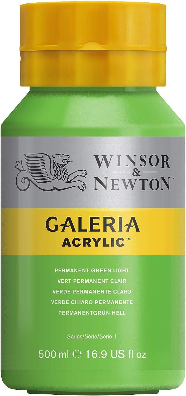 Winsor & Newton Galeriaアクリルカラーチューブ 500-ml Bottle グリーン 2150483