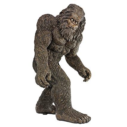 Attrayant Design Toscano Yeti The Bigfoot Garden Statue, Life Size 72 Inch,  Fiberglass Polyresin,
