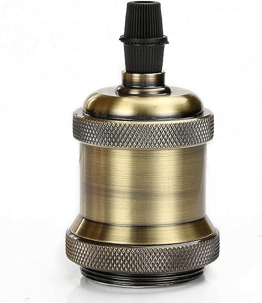 Retro Vintage UK Industrielle Antik Edison E27 Fassung Lampe Glühbirne Halter
