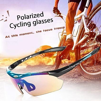 d6a3cc304f78 Amazon.com   Three Shooter Unisex Polarized Eyewear Sports Glasses ...