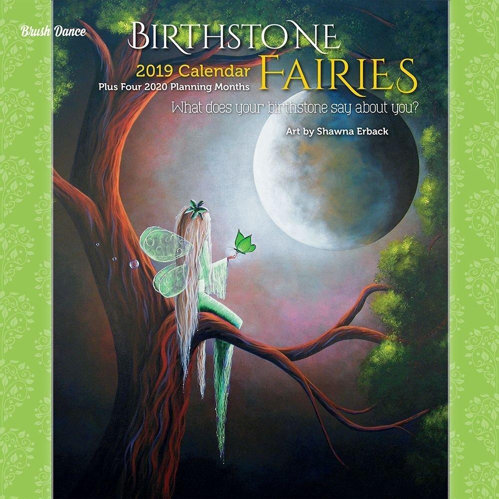 Birthstone Fairies 2019 Wall Calendar