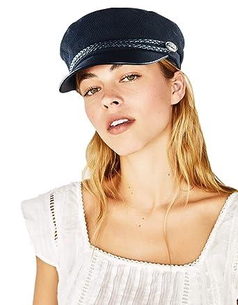 acquisto autentico prodotti di qualità vende WETOO Berretto Piatto con Visiera Donna Pelle Vintage Invernale Baschi  Cappello Primavera