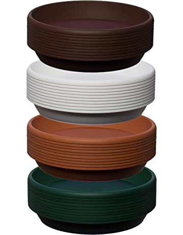 Blooming Weather Cylindro Pot Saucer 13cm Terracotta Pack of 5