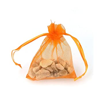 Amazon.com: 20 bolsas de regalo de organza para galletas ...
