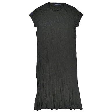 Polo Ralph Lauren para mujer Maxi vestido - Gris - XL: Amazon.es ...