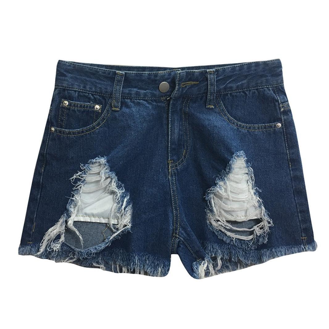 Btruely Shorts Damen Sommer Jeans Hhigh Waist Shorts Damen
