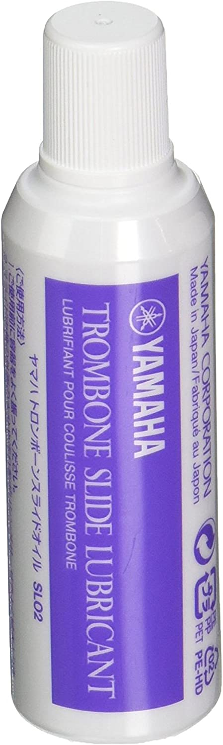Yamaha Trombone Cleaning And Care Product (YAC1021P) SLO3 Lubricant,Clear