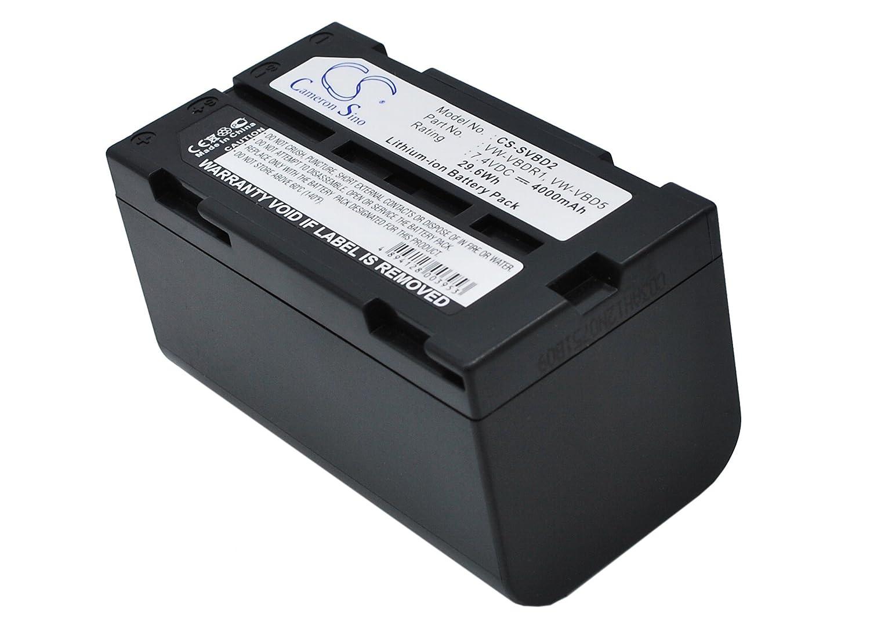 4000 mAh交換バッテリーfor Canon es-300 V、pv-d1000   B017PDB026